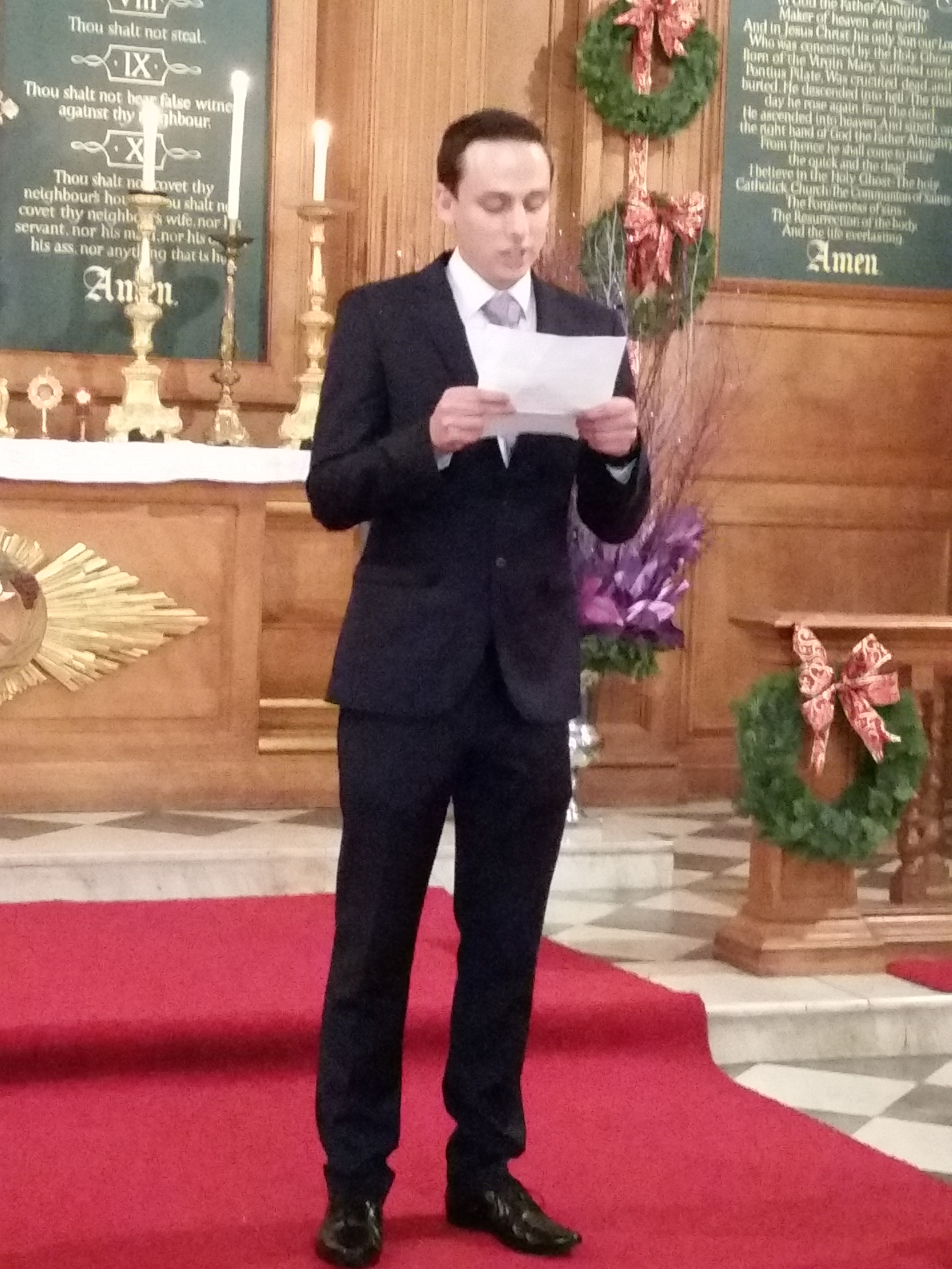 Sam found his true love in Slovenia. He is learning Slovene now and this was his first reading of a Slovene text.